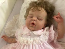 Reborn baby Alexis by Cassie Brace LE~Orange Blossom Nursery