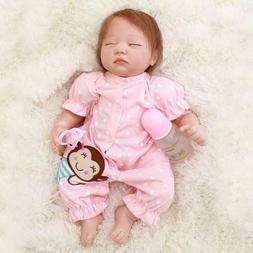 Reborn Baby Doll 18 Inch Handmade Realistic with Soft Body f