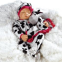 Paradise Galleries Reborn Baby Doll Over The Moon, 19 inch S