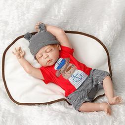 SanyDoll Reborn Baby Doll Newborn Doll 22inch 55cm Magnetic