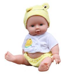 Reborn Baby Doll Soft Vinyl Silicone Lifelike Newborn Kids T