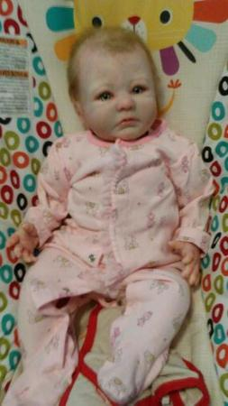 Reborn baby dolls girl anna