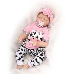 "Reborn Baby Dolls Girl Handmade Toddler Doll Realistic 22"" K"