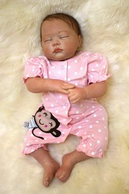 "11"" Handmade Newborn Baby Girl Vinyl Soft Silicone Realistic"