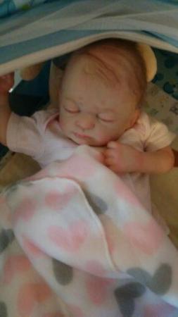 Reborn baby dolls girl newborn Hazel Sculpt!