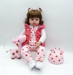 Reborn Baby Dolls Realistic Silicone Baby Toddler Doll for G