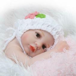 Reborn Baby Dolls Vinyl Newborn Baby Lovely Lifelike Cute Ba