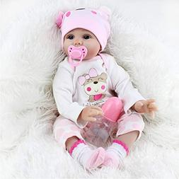 Connoworld NPK Reborn Baby Dolls Full Body 22inch Lifelike N