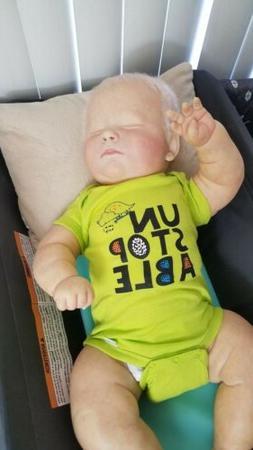 Reborn Doll 3 Months Joseph asleep