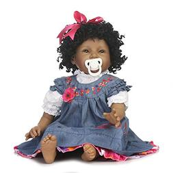 NPK Reborn Baby Doll Girls African American Girl Black Doll