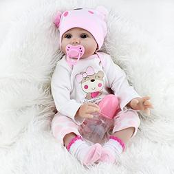 Kaydora Reborn Baby Doll 22 Inch Handmade Lifelike Baby Girl