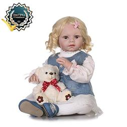 Zero Pam Reborn Doll Girl Doll That Look Real with Blonde Ha