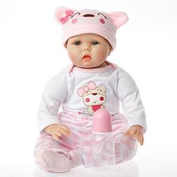 SanyDoll Reborn Doll Baby Newborn Doll 22inch 55cm Magnetic