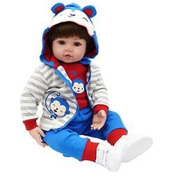 Tianara Reborn Baby Doll Toddler Gifts 24 inch Realistic Rea