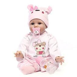 Minidiva Reborn Baby Dolls 22 inch, Quality Realistic Handma