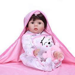 NPK collection Reborn Baby Dolls Girl Blinking Eyes 22inch 5