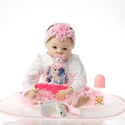 SanyDoll Reborn Baby Dolls, Baby Growth Partners, Headband P