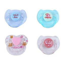 4PCS Reborn Baby Dummy Magnetic Pacifier For Reborn baby dol