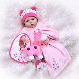 Reborn Baby Dolls Real Baby Doll  22 inch Weighted Cute Life