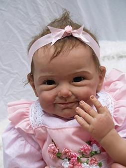 "NPK Reborn Baby Dolls Girl 22"" Reborn Dolls Realistic Newbor"