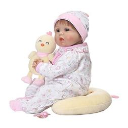 Feamos Reborn Dolls Silicone Full Body Girl with Little Chic