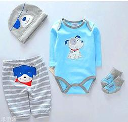 """Reborn Baby Dolls Clothes Boy Blue Outfits for 20""""- 22"""" Rebo"""