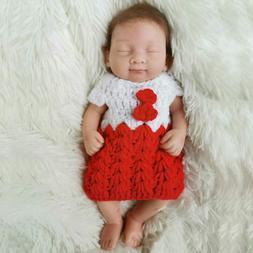 Reborn Full Body Solid Silicone Dolls 10 Inch Mini Reborn Ba