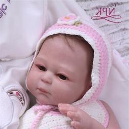 Reborn Girl Baby Dolls Full Body Vinyl Silicone Newborn Touc