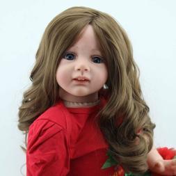 24''Toddler Reborn Baby Dolls Handmade Vinyl Silicone Newbor