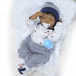 "OCSDOLL MaiDe Reborn Baby Doll 20 "" Realistic Soft Silicone"