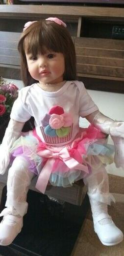 Reborn Silicone Baby and Toddler Dolls Life Size Princess Gi