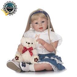 Binxing Toys 28in Reborn Toddler 70cm Realistic Baby Dolls S