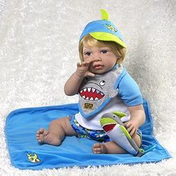 Paradise Galleries Reborn Toddler Sharkey, 20 inch Realistic