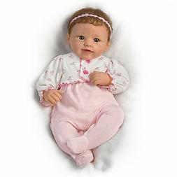Ashton-Drake Sadie Interactive Baby Doll Breathes, Coos, Has