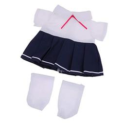 Fenteer School Style Pleated Dress Socks Suit for Mellchan 9