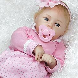 Silicone Realistic Newborn Baby Doll 20 inch Real Baby Handm