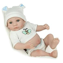 Full Body Silicone Realistic Reborn Baby Boy Washable Handma