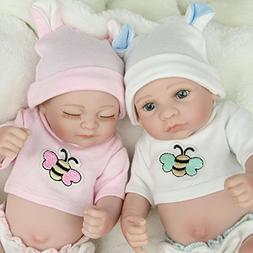 Kaydora 10 Inch Reborn Baby Doll Full Body Vinyl Boy and Gir