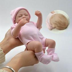 Silicone Reborn Baby Dolls Full Body Soft Vinyl Realistic Ne
