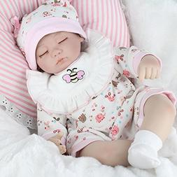 MARKIDS 18 Inches Silicone Reborn Doll Soft Baby Toys Gifts
