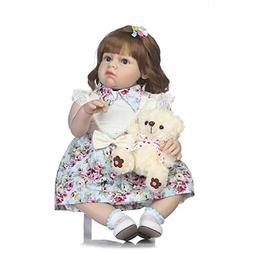 NPK collection Silicone Reborn Baby Doll Toy 28inch 70cm Lov