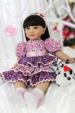 NPK collection 60cm Silicone Reborn Baby Doll Toys Lifelike