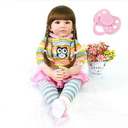 NPK collection 60cm Silicone Reborn Baby Doll Toys Like Real