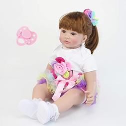 NPK collection 60cm Silicone Reborn Baby Doll Toys Soft Clot
