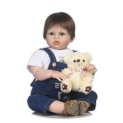 NPK collection Silicone Reborn Baby Dolls Toy 70cm 28inch Re