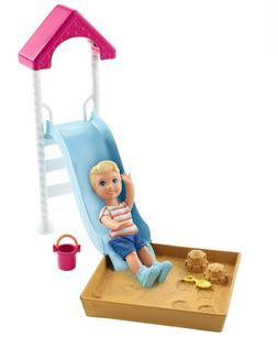 BARBIE SKIPPER BABYSITTERS INC BABY DOLL and STROLLER PLAYSE