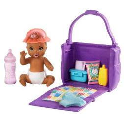 Barbie Diaper Changing Baby Doll Playset