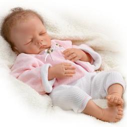 "Sleeping Realistic Baby Doll: Sweet Dreams, Bella - 19"" by A"