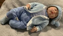 CHAREX Sleeping Reborn Baby Dolls Boy, 22 Inches Realistic W