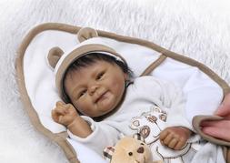 18 soft african american doll boy lifelike